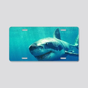 GREAT WHITE SHARK 1 Aluminum License Plate